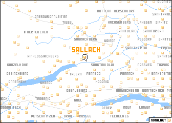 map of Sallach