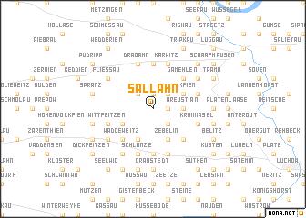 map of Sallahn