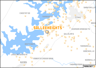 map of Sallee Heights