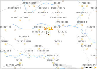 map of Sall