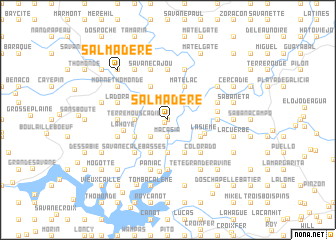 map of Salmadère