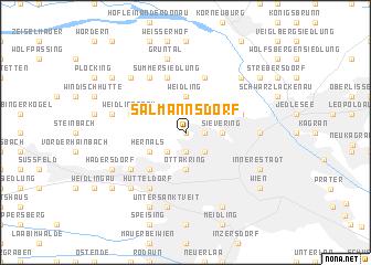 map of Salmannsdorf