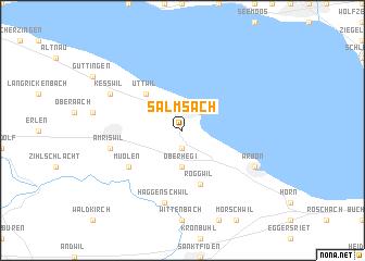 map of Salmsach