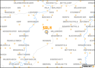 map of Salm