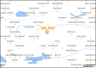 map of Sal\