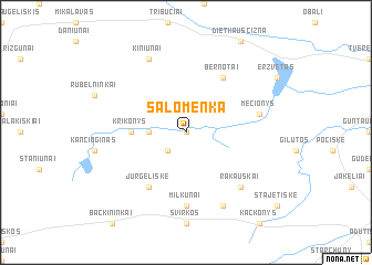 map of Salomenka