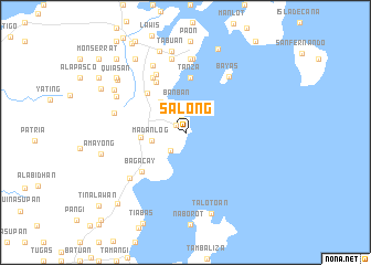 map of Salong