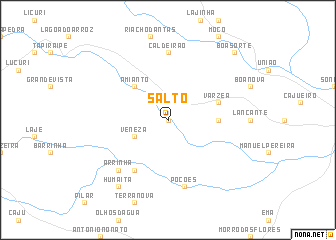 map of Salto