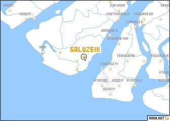 map of Saluzeik
