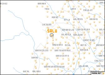 map of Salu