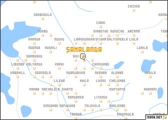 map of Samalanda