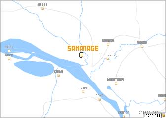 map of Samanage