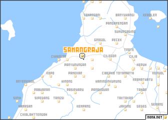 map of Samangraja