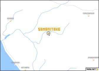 map of Samanitake