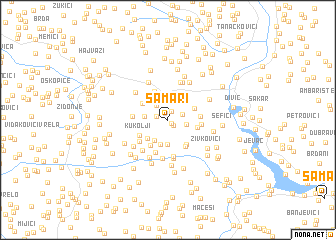 map of Samari