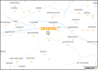 map of Samāvak