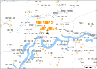 map of Sambaíba