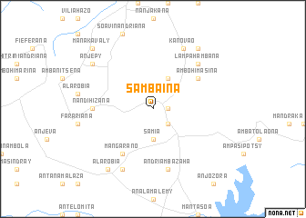 map of Sambaina