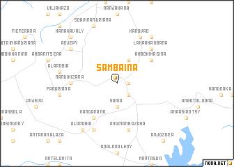 map of Sambaina