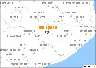 map of Sambrase