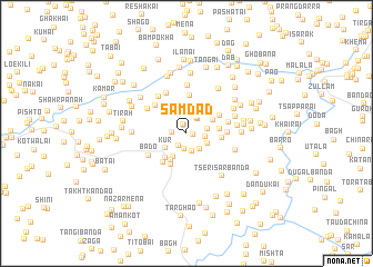 map of Samdād
