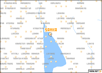 map of Samka