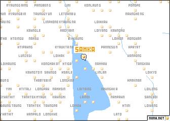 map of Samka