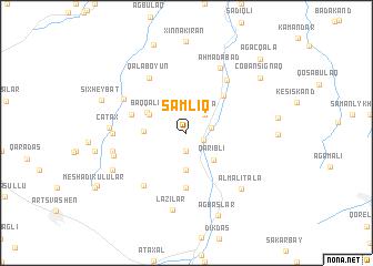 map of Şamlıq