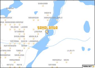 map of Samolanda