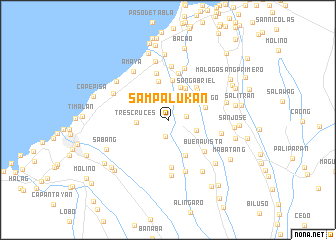 map of Sampalukan