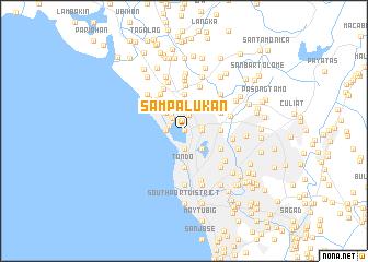 map of Sampalukan