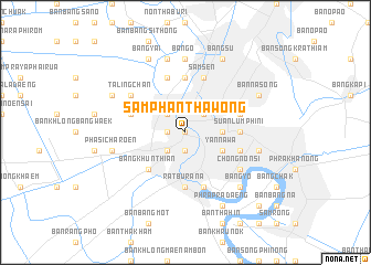 map of Samphanthawong