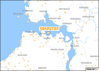 map of Samputan