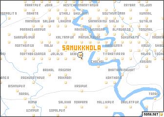 map of Sāmukkhola