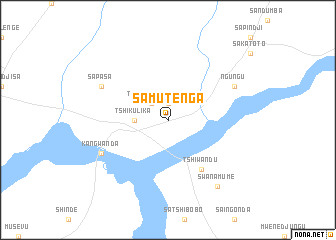 map of Samutenga