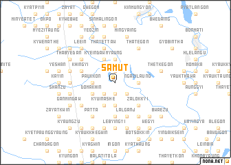 map of Samut