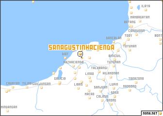 map of San Agustin Hacienda