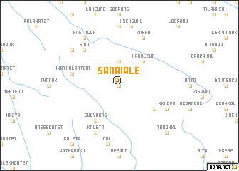 map of Sanai Ale