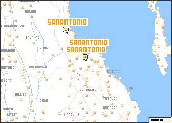 San Antonio Philippines map nonanet