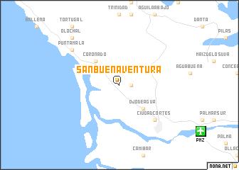 San Buenaventura Costa Rica map nonanet