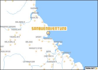 San Buenaventura Philippines map nonanet