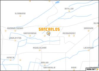 San Carlos (Mexico) map - nona.net