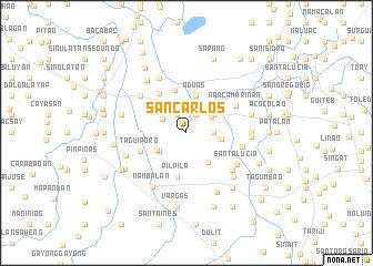 map of San Carlos