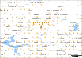 map of Sancibrao