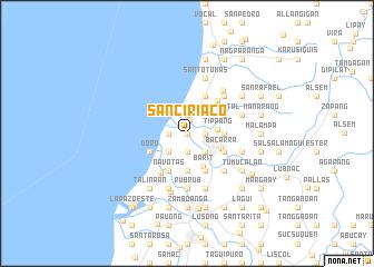 map of San Ciriaco