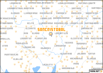 map of San Cristóbal