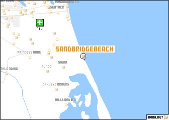 Sandbridge Beach United States  USA map  nonanet