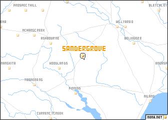 map of Sandergrove