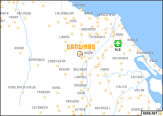 map of San Dimas