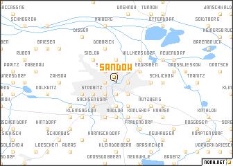 map of Sandow